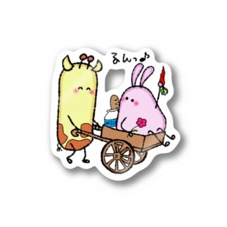 *ぽちゃまるなふたり* Stickers