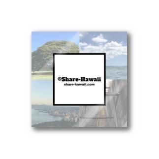シェアハワイ ハワイ風景 Stickers