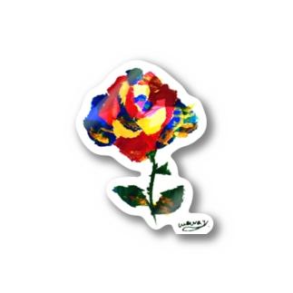 ART ROSE  Stickers