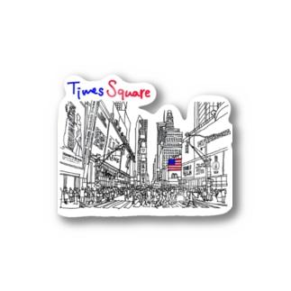 さぁや in Times square Sticker
