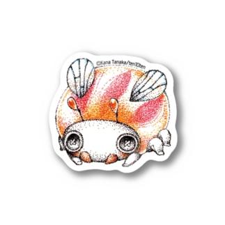 ビーダマムシ・赤 Stickers