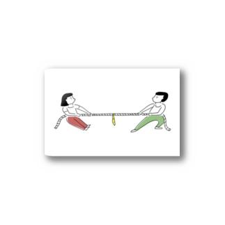 綱引き Stickers