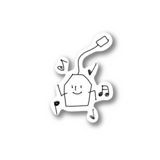 ダンスダンスティーバッグくん Stickers