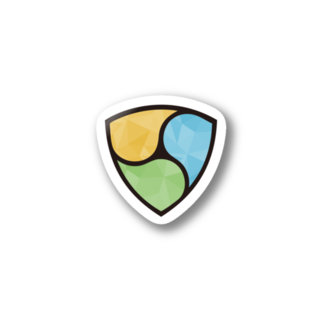 KURINOYA - クリノヤの#NEM  logo Polygon Stickers