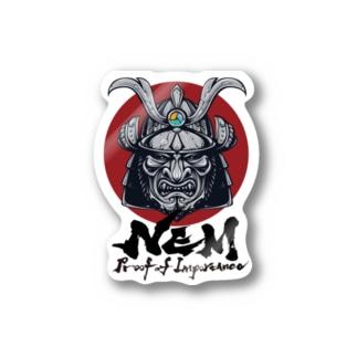 #NEM XEMURAI JAPAN Stickers