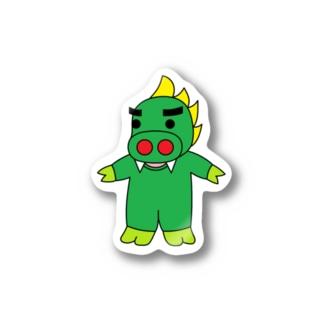 チュパカブタ君(ステッカー版) Stickers