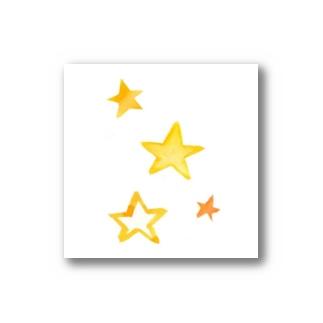 水彩スター Stickers