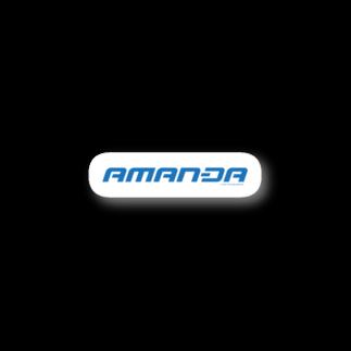 KURINOYA - クリノヤの#DASH AMANDA ステッカー