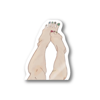 SOMEONE S FOOT  Stickers