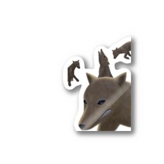 ニホンオオカミ Stickers