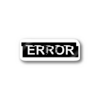 ERROR Stickers