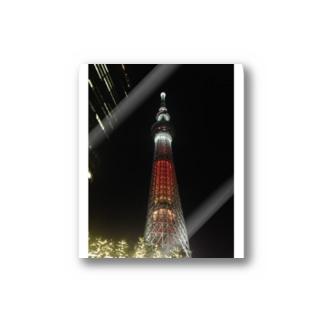 わざとらしい東京④ Stickers