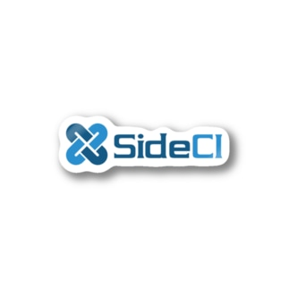 SideCI Blue Stickers