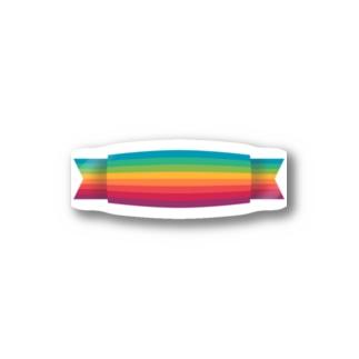 レインボーベルト Stickers