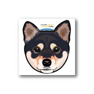 Kuroshiba-001 Stickers