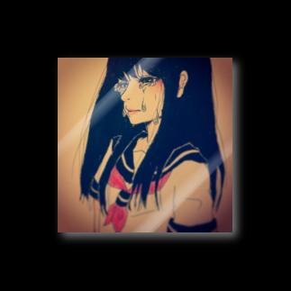 千花@RESCUEの青い春を Stickers