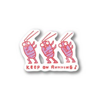 KeepOnRunning Stickers