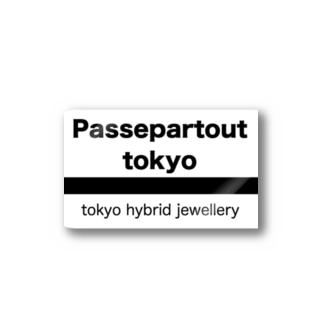 Passepartout Tokyo Stickers