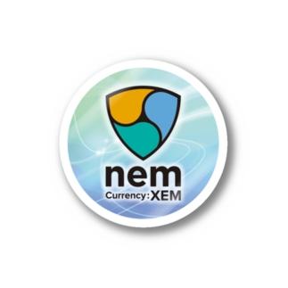 nem(Currency:XEM)ステッカー ステッカー