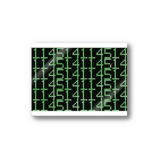 デジタル数字メッセージ Stickers