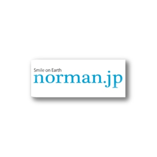 norman.jpロゴシリーズ Stickers