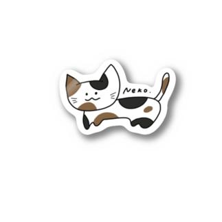 Neko. Stickers