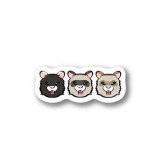 にょろs Stickers
