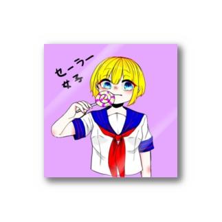セーラー女子 Stickers