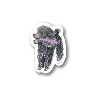 poodleboy Stickers