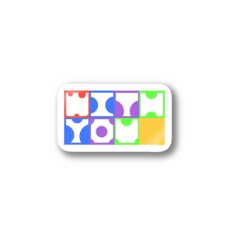 推しとwith you Stickers