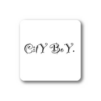 CitY BoY. Stickers