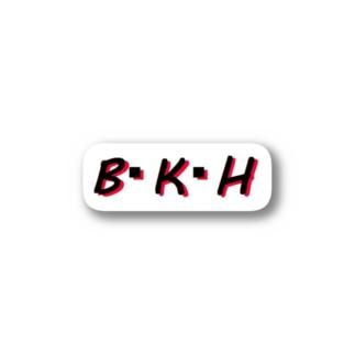 B・K・H Stickers