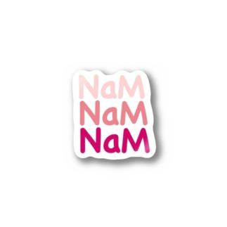 NaMロゴ Sticker