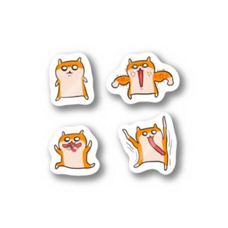 貼れるクソハムちゃん Stickers
