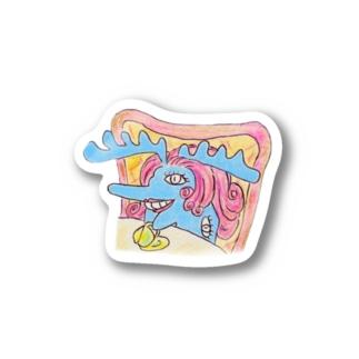 過敏婦人ムース Stickers