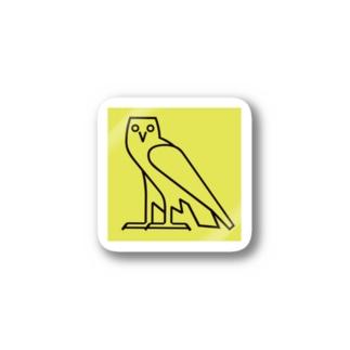 ヒエログリフ M Stickers