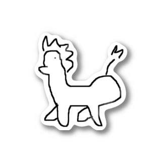 馬 Stickers