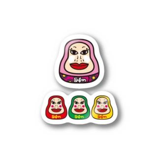 ミャンマ子子ミャンマ子 Stickers