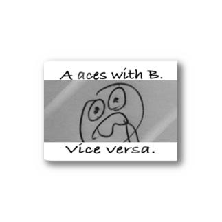 Vice versa Stickers