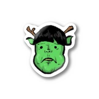 よしこちゃん Stickers