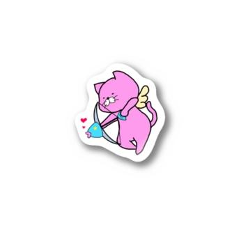 ホシネコ/射手座 Stickers