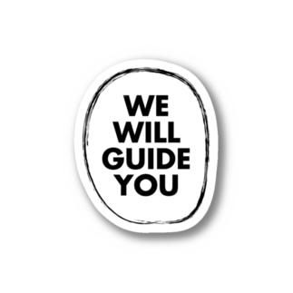 JapanWonderGuideのWE WILL GUIDE YOU Stickers