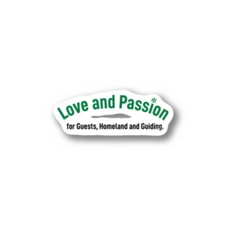 JapanWonderGuideのLove and Passion Stickers