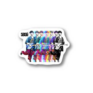 ちょっ。デザイン 辻クラシック Sticker