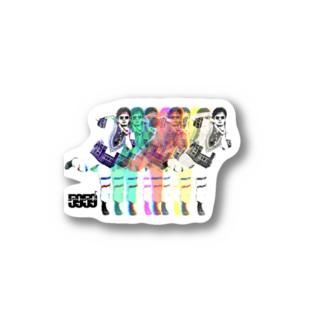 ちょっ。デザイン GA阪本 Sticker