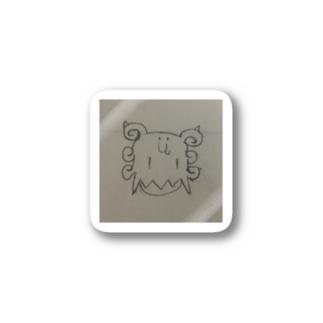 xai 馬鹿かお前ステッカー Stickers