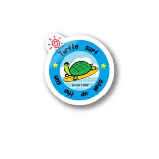 サーフィンカメさん Stickers