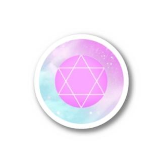 桃色の六芒星 Stickers