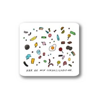 lördagsgodis-ar Stickers