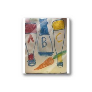 ABC キャロット Stickers